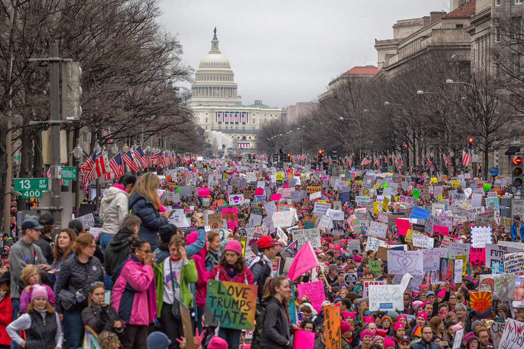 2017 Women's March: Worldwide political rallies for women's rights