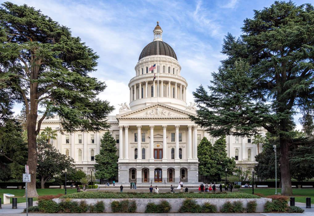 California State Capitol: State capitol building in Sacramento, California