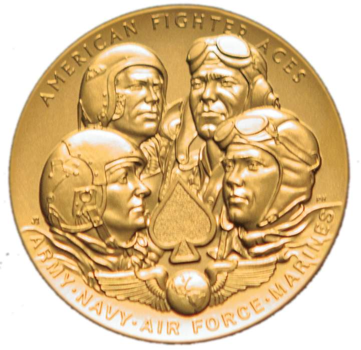 Congressional Gold Medal: Award bestowed by the United States Congress