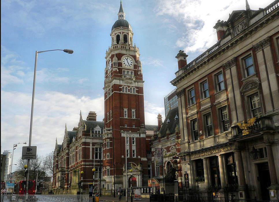 Croydon: Town in South London, England