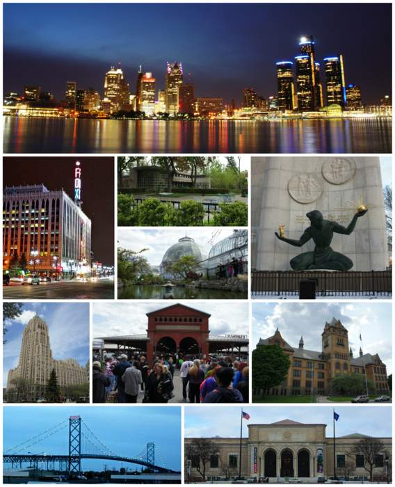 Detroit: Largest city in Michigan, United States