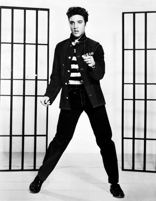 Elvis Presley: American singer and actor
