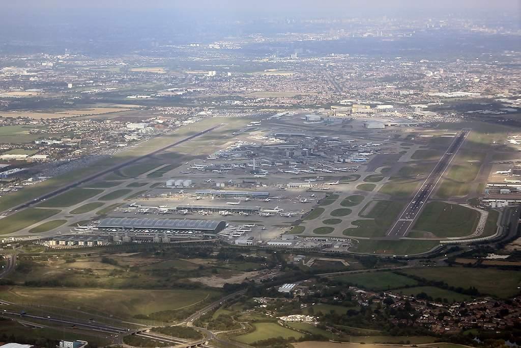 Heathrow Airport: Major international airport serving London, United Kingdom