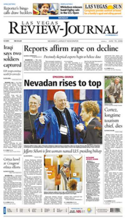 Las Vegas Review-Journal: Newspaper published in Las Vegas, Nevada