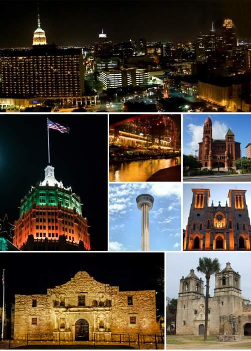 San Antonio: City mostly in Bexar County, Texas, U.S.