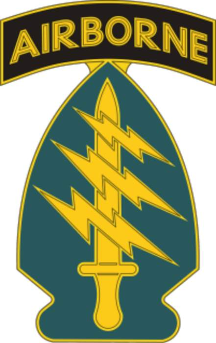 United States Army Special Forces: US Army special operations force