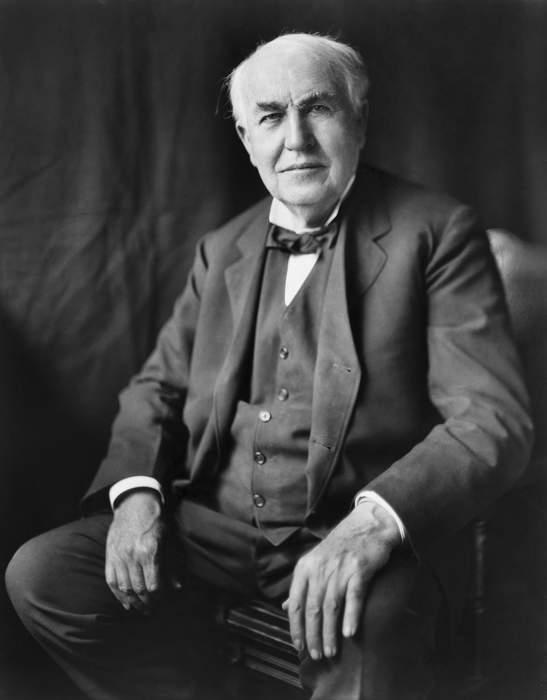 Thomas Edison: American inventor and businessman