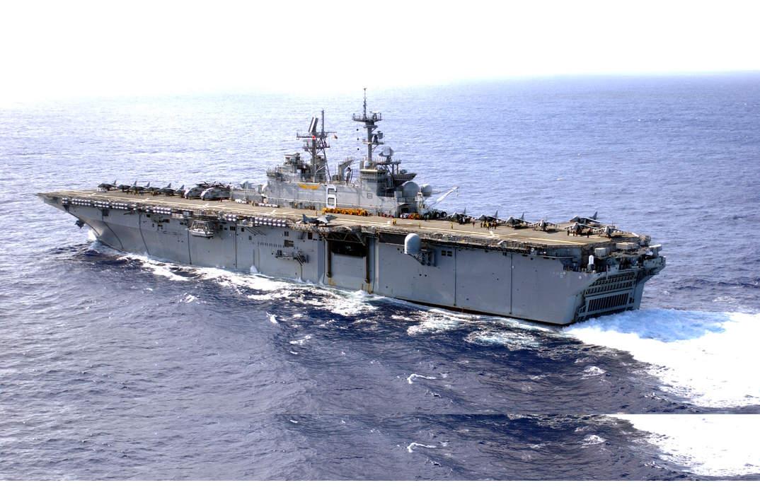 USS Bonhomme Richard (LHD-6): Wasp-class amphibious assault ship